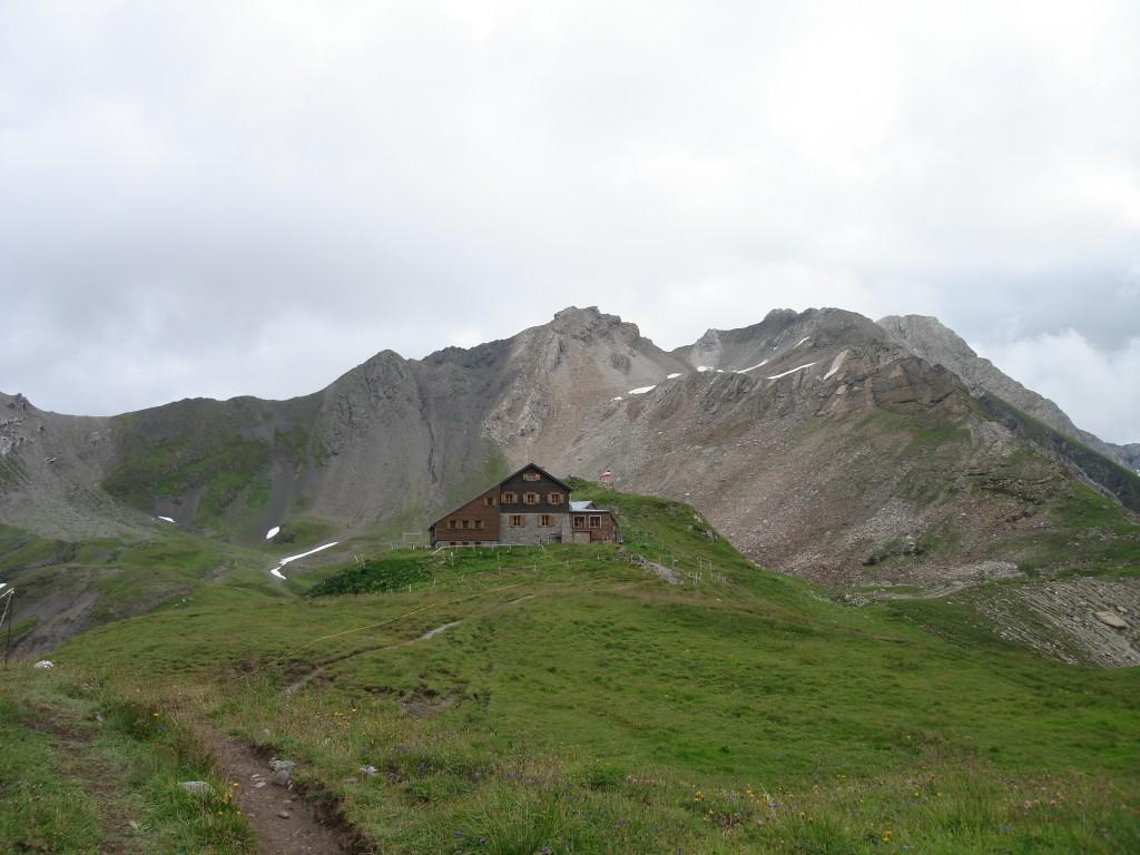 Erstes Etappenziel: Die Stuttgarter Hütte