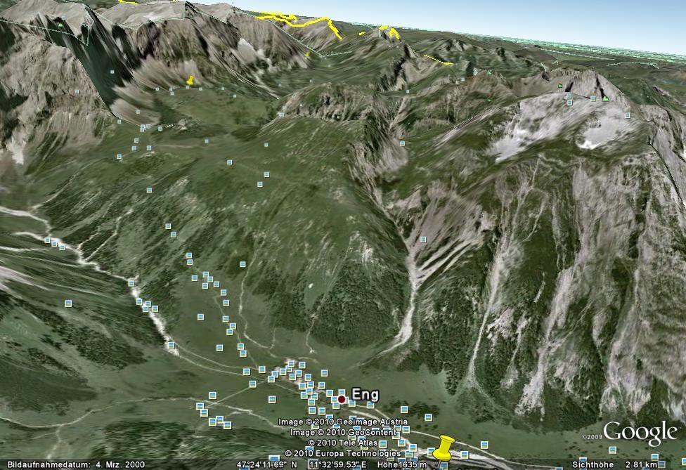Tag 1: Anfahrt nach Eng und Aufstieg zur Falkenhütte