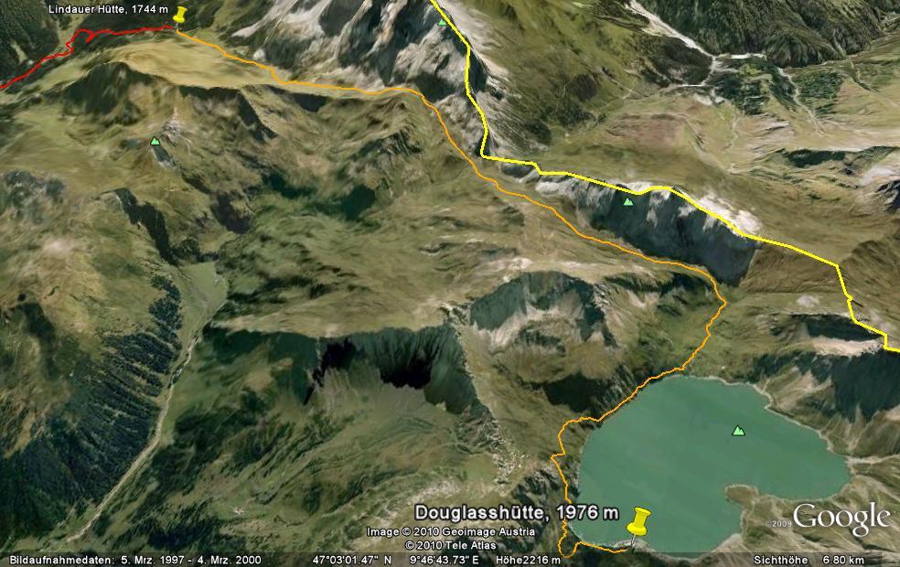 Tag 2: Von der Lindauer Hütte zur Douglasshütte