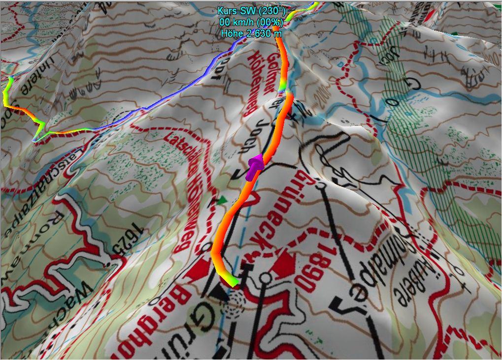 3-D-Ansicht von Tag 1, Variante c