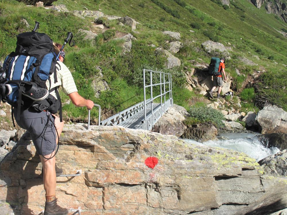 Kleine Kletterparty