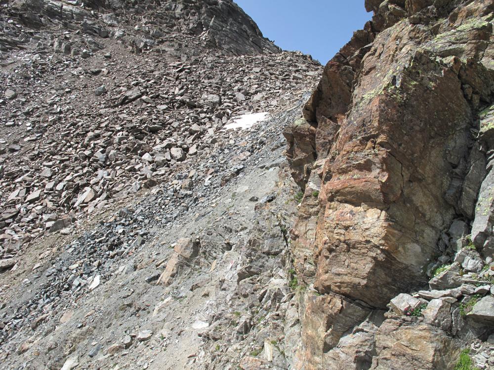 Der letzte Anstieg (auf diesen Berg)