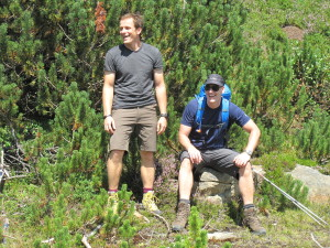 1. Rast - Ralf und Matthias