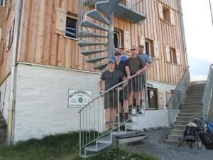 Tag 2 - Start auf der Heilbronner Hütte
